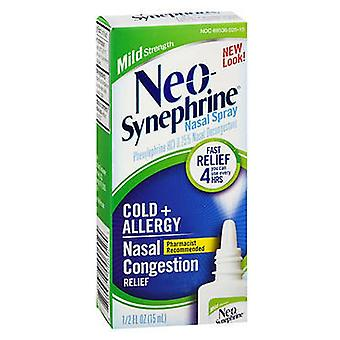 Neo-synephrine koude + anti neusverstopping opluchting spray, 0.5 oz