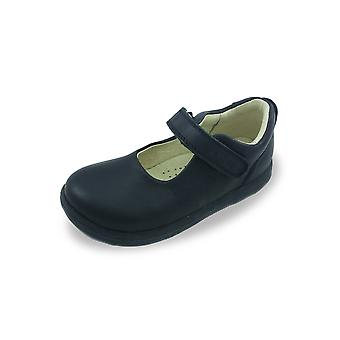 Bobux i-walk & kid+ delight mary-jane black school shoes