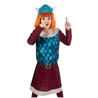 Déguisement Vic la Viking Wickie fille
