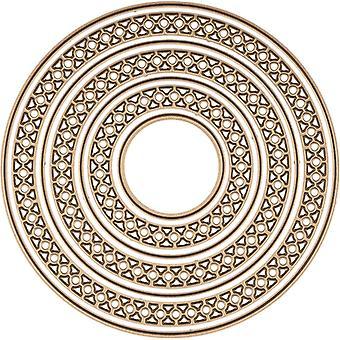 Spellbinders Nestabilities Dies Door Becca Feeken - Candlewick Classics Circles
