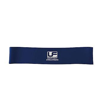 Urban Fitness Gym Training Resistance Band Loop 12 Inch Blue - Extra Strong
