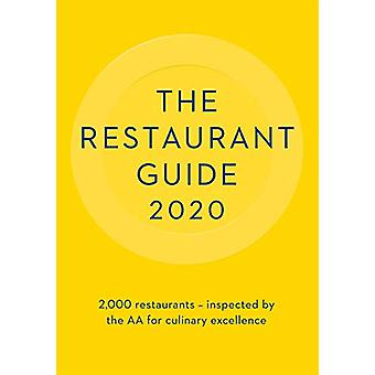 The AA Restaurant Guide 2020 - 9780749581930 Book