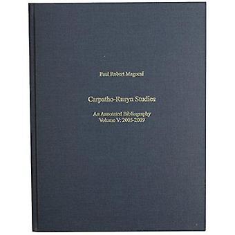 Carpatho-Rusyn Studies - An Annotated Bibliography 2005-2009 - v. V - 20