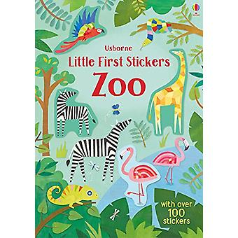 Little First Stickers Zoo by Holly Bathie - 9781474950978 Book
