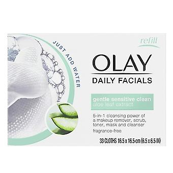 Make Up Remover Wipes Cleanse Daily Facials Micellar Olay (30 pcs) Dry skin