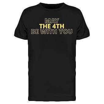 May The 4Th Be With You Tee Men's -Image by Shutterstock Men's T-shirt