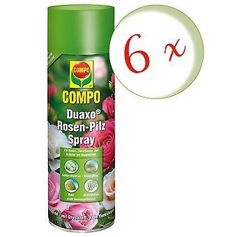 Sparset: 6 x COMPO Duaxo® Roses Mushroom-Free Spray, 400 ml