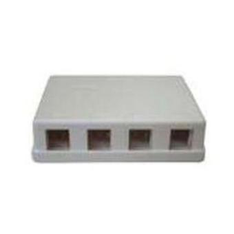 4 port Keystone Surface Mount Box