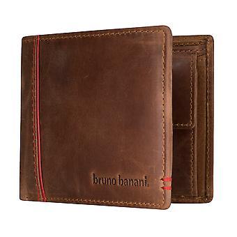 Bruno banani mens wallet wallet purse Cognac/red 5331