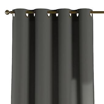 Ösenschal, grau, 130 × 260 cm, Quadro, 136-14