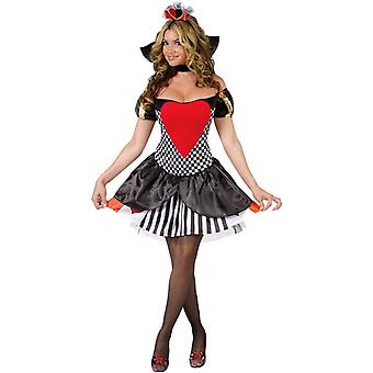 Sassy Queen Of Hearts Adult Costume