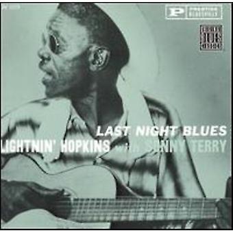 Hopkins/Terry - Last Night Blues [CD] USA import