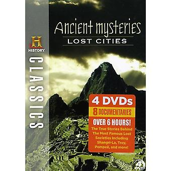 Ancient Mysteries: Lost Cities [DVD] USA import