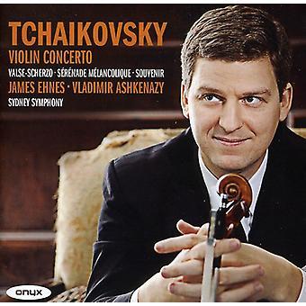 P.I. Tchaikovsky - Tchaikovsky: Violin Concerto; Valse-Scherzo; S R Nade M Lancolique; Souvenir [CD] USA import