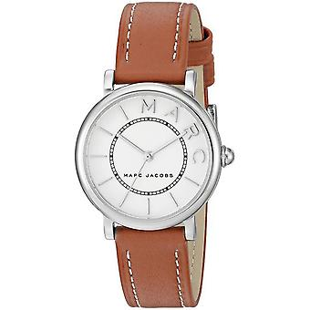 Marc Jacobs MJ1572 Classic Brown Leather Strap Unisex Watch