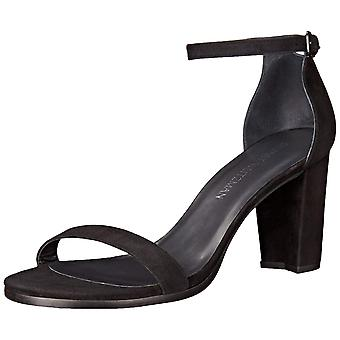 Stuart Weitzman Womens Nearlynude Suede Open Toe Casual Strappy Sandals