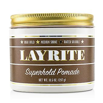 Superhold pomade (high hold, medium shine, water soluble) 227118 297g/10.5oz