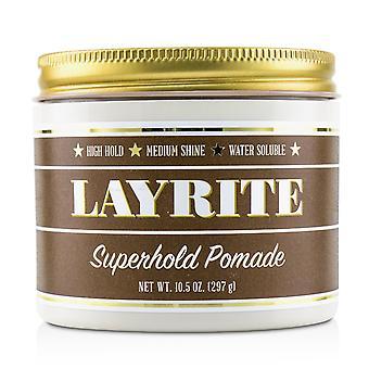 Pomade superhold (haute tenue, brillance moyenne, soluble dans l'eau) 227118 297g/10.5oz