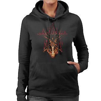 Alchemy Furnace Of Mercury Women's Hooded Sweatshirt