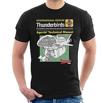 Thunderbirds tekniske manuelle skib mænd ' s T-shirt