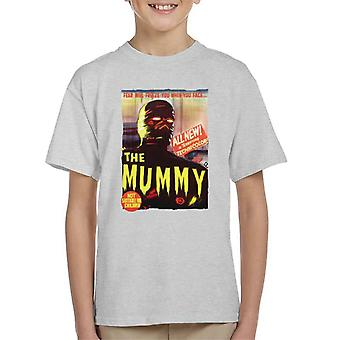 Hammer Horror films Mummy Movie Poster Kid ' s T-shirt