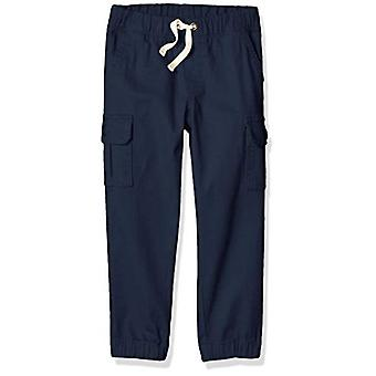 Essentials Big Boys' Cargo Pants, Navy Blazer, XXL (14)