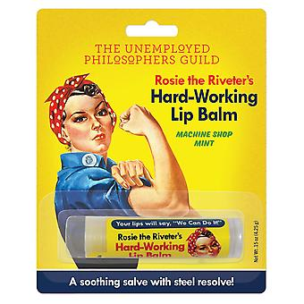 Lip Balm - Rosie The Riveter's Hard Working - Peppermint Flavor 5367