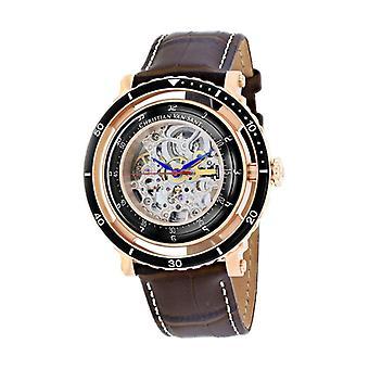 Cv0744, Christian Van Sant Men'S Dome - Silver - Automatic Watch