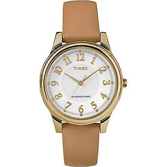 TW2R87000, Main Street Timex Style Ladies Watch / Blanc