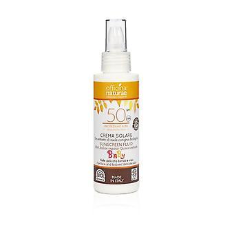 Fluid Sun Cream SPF 50 High Protection for Children - Bioplastic bottle None