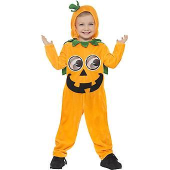 Græskar Halloween kostume for børn