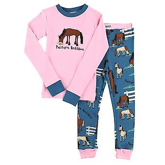 Lazy One Pasture Bedtime KID288 Girl's Pyjama Set