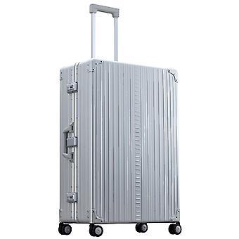 "ALEON Macro Plus Traveler 32"" Trolley 4 Rollen, 55 cm, 93.5  L, Silber"