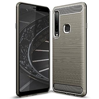 Mobile Protection Rubber for Samsung Galaxy A9 (2018) Mobile Shell Grey