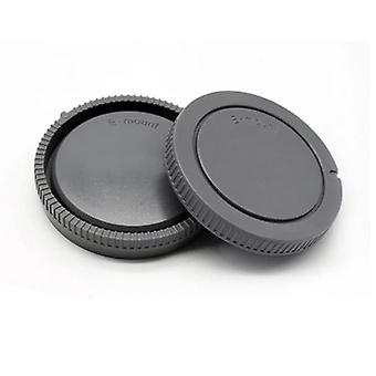 1 Pairs-camera Body Cap + Rear Lens Cap-for Sony-nex Nex-3 E-mount