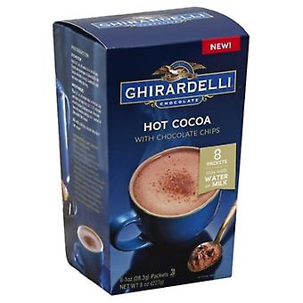 Ghirardelli Hot Cocoa Mix med Semi Sweet Chocolate Chips