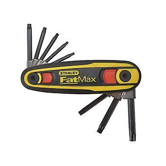 Stanley Työkalut FatMax TORX avaimen lukitussarja 8 (T9-T40) STA097553