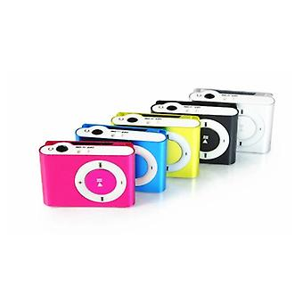 Portable Metal Clip Mp3 Player With 5 Candy Colors No Memory Card Music Player With Tf Slot