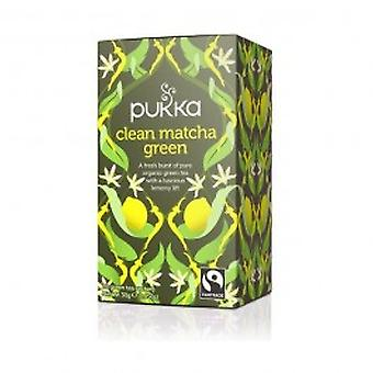 Pukka - Clean Matcha Green Tea 20  Sachet