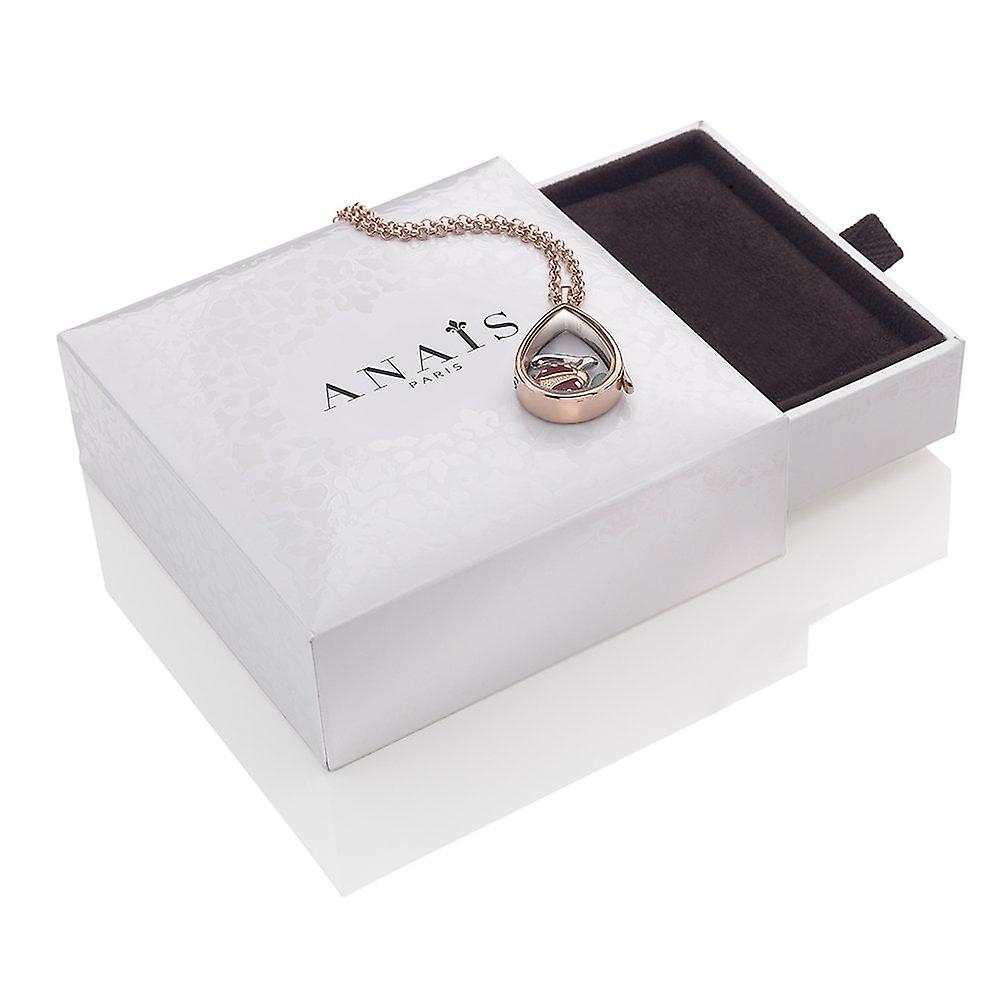 Anais Hot Diamonds Anais Rose Gold Plated Sterling Silver October Charm AC042
