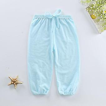 Spring Summer Kids Leggings Boys / Girls Thin Anti Mosquito Pants- Cotton Bloom Pants Trousers Baby Pajama Clothing