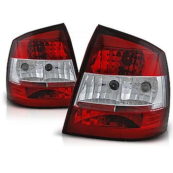 LUCES traseras OPEL ASTRA G 09 97-02 04 3D/5D R-W