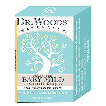 Dr.Woods Produits Castile Bar Soap, BABYMILD 5.25 OZ