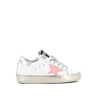 Golden Goose Gwf00118f00023710253 Kvinnor's vita läder sneakers