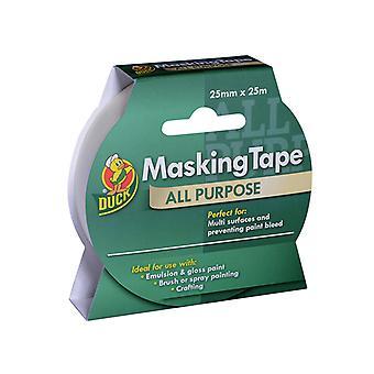 Shurtape Duck Tape All Purpose Masking Tape 25mm x 25m SHU232147