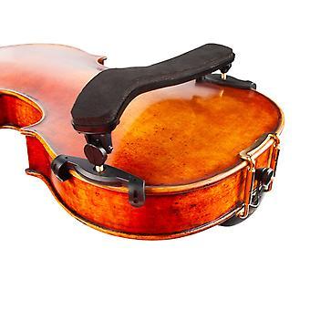 Adjustable Violin Shoulder Rest Plastic Padded For 3/4 4/4 Fiddle Violin- 4/4