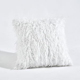 Luca Decorative Pillow White Single 18X18