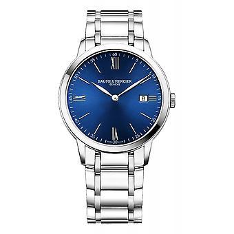 Baume & Mercier BM0A10382 Classima Blue Dial Wristwatch