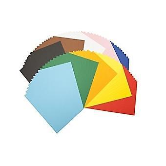 Gekleurd papier A4 gekleurde maten 100 vellen - Voor kunst en ambachten kinderen creativiteit geschenken decoratie projecten
