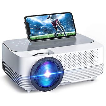 Wifi Projector 6000Lux Screen Mirroring, Mini Projector Wireless,1080P Supported